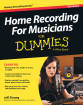 Hal Leonard - Home Recording for Musicians for Dummies 5th Edition - Strong - Book