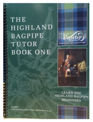 Highland Bagpipe Tutor Book 1 - Bagpipes - Book/Media