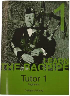 College of Piping Vol. 1 - Bagpipes - Book/CD