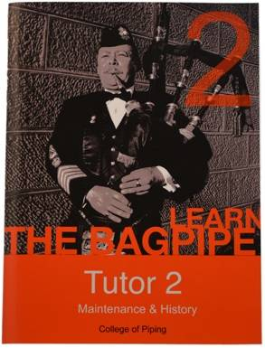 College of Piping Vol. 2 - Bagpipes - Book/DVD