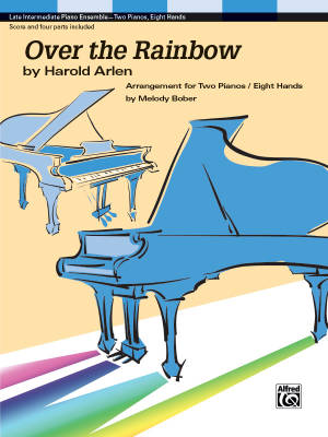 Over The Rainbow - Arlen/Bober - Piano Quartet (2 Pianos, 8 Hands)