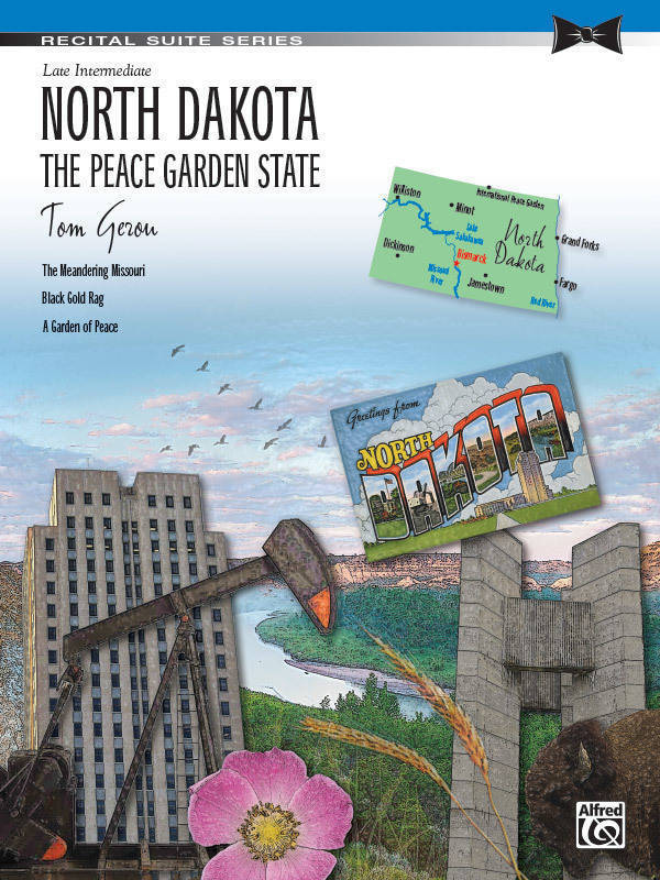 Alfred Publishing North Dakota: The Peace Garden State - Gerou - Late Intermediate Piano