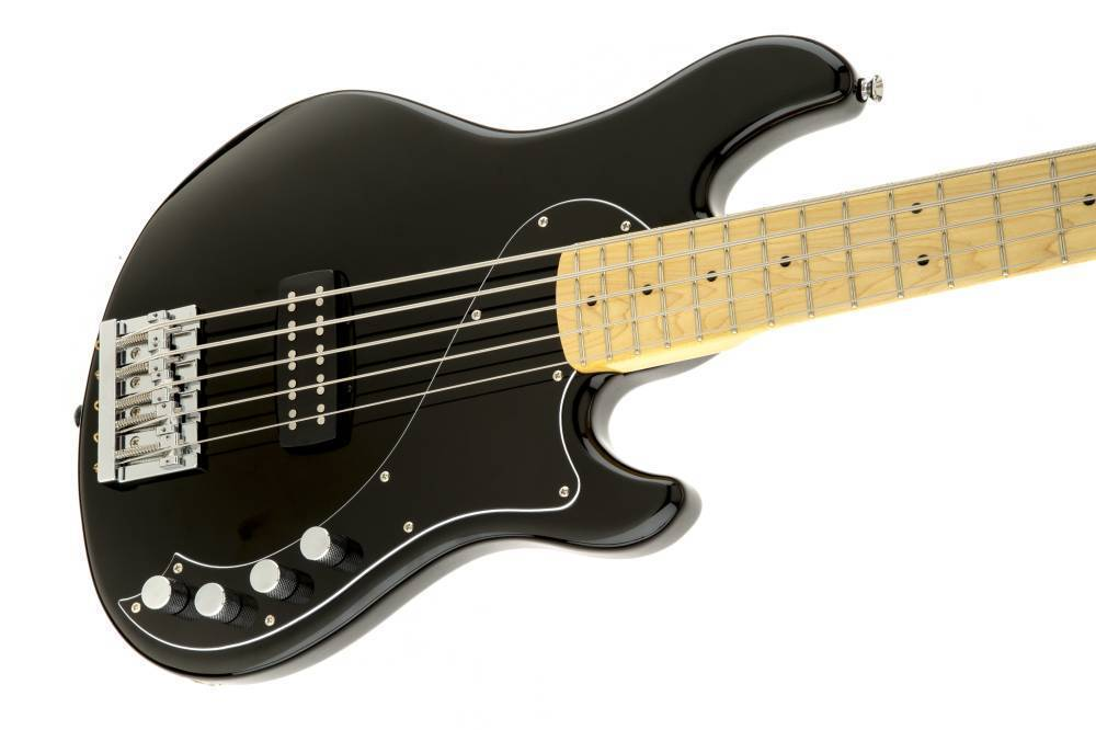 Squier Squier Deluxe Dimension Bass V - Black  Maple