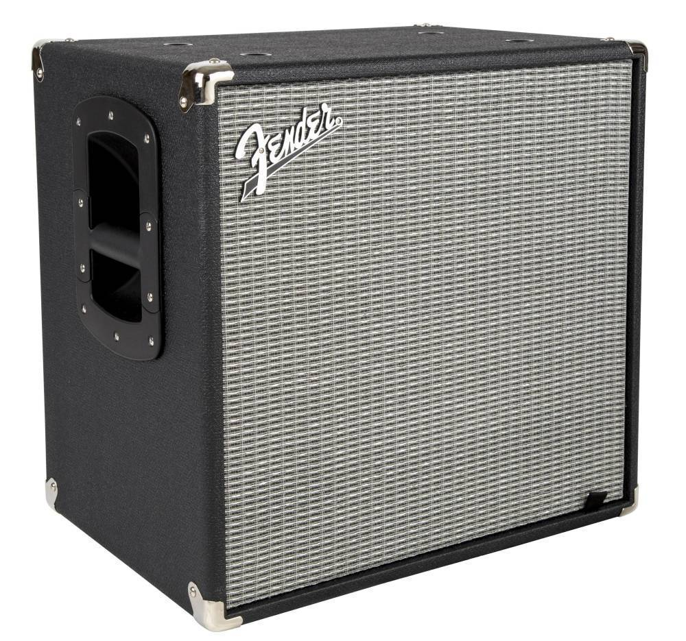 Fender Rumble 112 Cabinet V3 Black Silver Long Amp Mcquade
