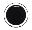 Ahead - 14 White S-Hoop Marching Pad with Snare Sounds