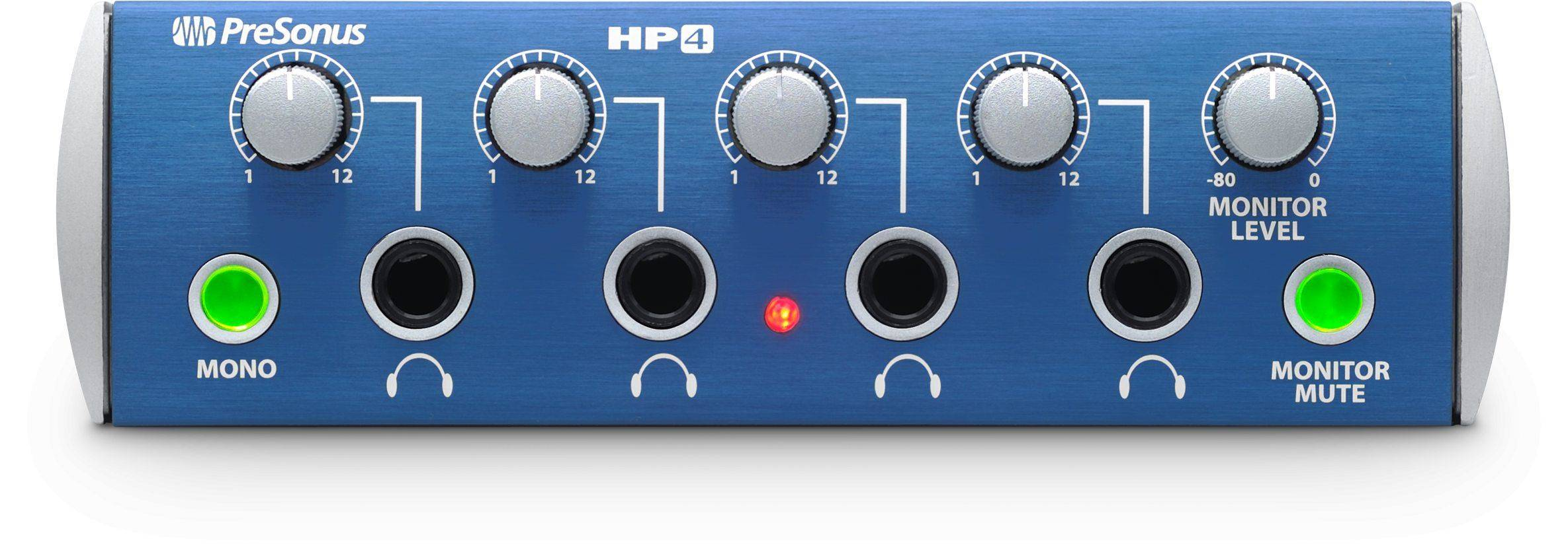 58861c66727 PreSonus HP4 4-Channel Headphone Amplifier. Departments > Pro Audio ...