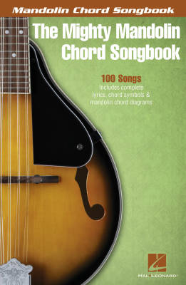 The Mighty Mandolin Chord Songbook - Book