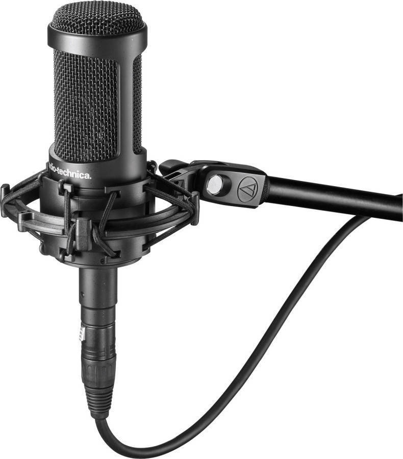 audio technica at2035 condenser microphone long mcquade musical instruments. Black Bedroom Furniture Sets. Home Design Ideas
