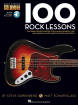 Hal Leonard - 100 Rock Lessons - Bass Guitar TAB/Audio Online