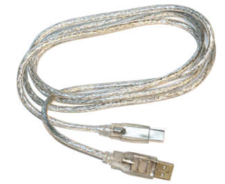 USB-A to USB-B Cable - 10 Foot