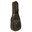 Crossrock - Deluxe Dreadnaught Acoustic Guitar Bag - Brown