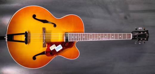 Venetian Solid Formed 17'' Archtop Jazz Guitar - Sunrise Teaburst