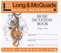 Long & McQuade - Music Dictation Book - 8 Stave - 48 Page