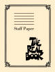 Hal Leonard - The Real Book - Staff Paper - 9 Stave