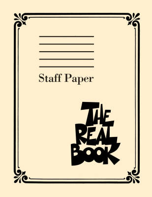 The Real Book - Staff Paper - 9 Stave