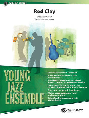 Red Clay - Hubbard/Kamuf - Jazz Ensemble - Gr. 2