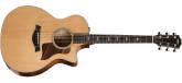 Taylor Guitars - Grand Auditorium Spruce/Maple Acoustic/Electric Guitar w/Case
