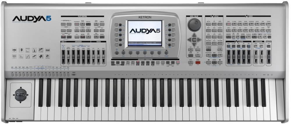 Ketron Audya 5 Arranger Keyboard Long Amp Mcquade Musical