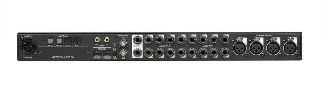 Apollo FireWire Audio Interface w/QUAD Core Processing