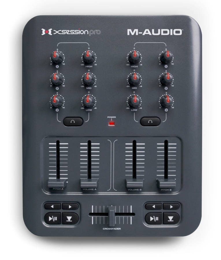 M-Audio X-Session Pro - USB DJ Mixer - Long & McQuade