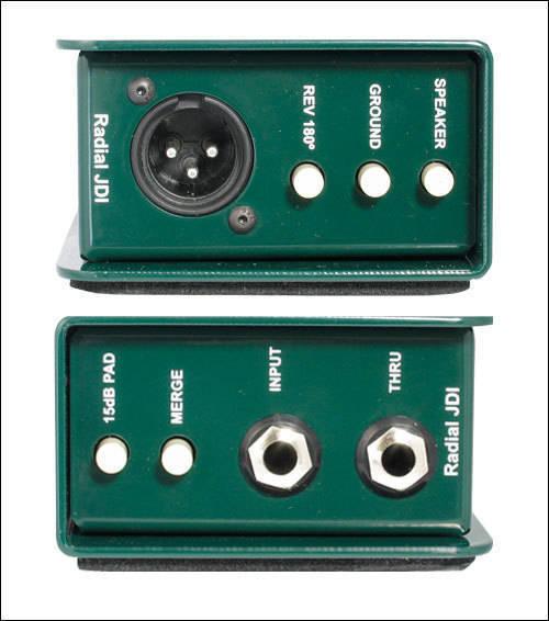 radial jdi passive direct box long mcquade musical instruments. Black Bedroom Furniture Sets. Home Design Ideas
