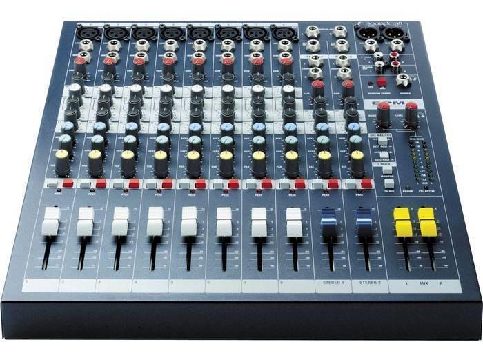 Soundcraft Epm8 8x2 Channel Mixer Long Amp Mcquade