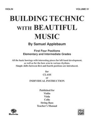 Building Technic With Beautiful Music, Book IV