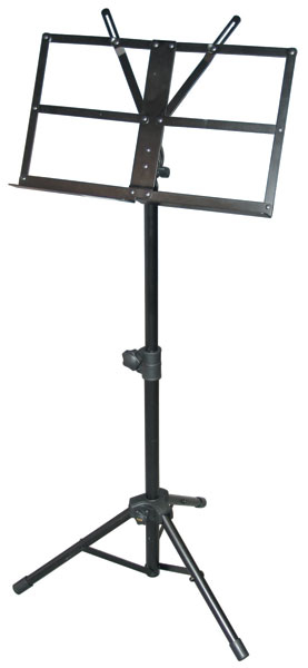 Yorkville Sound Heavy Duty Collapsible Music Stand With ...
