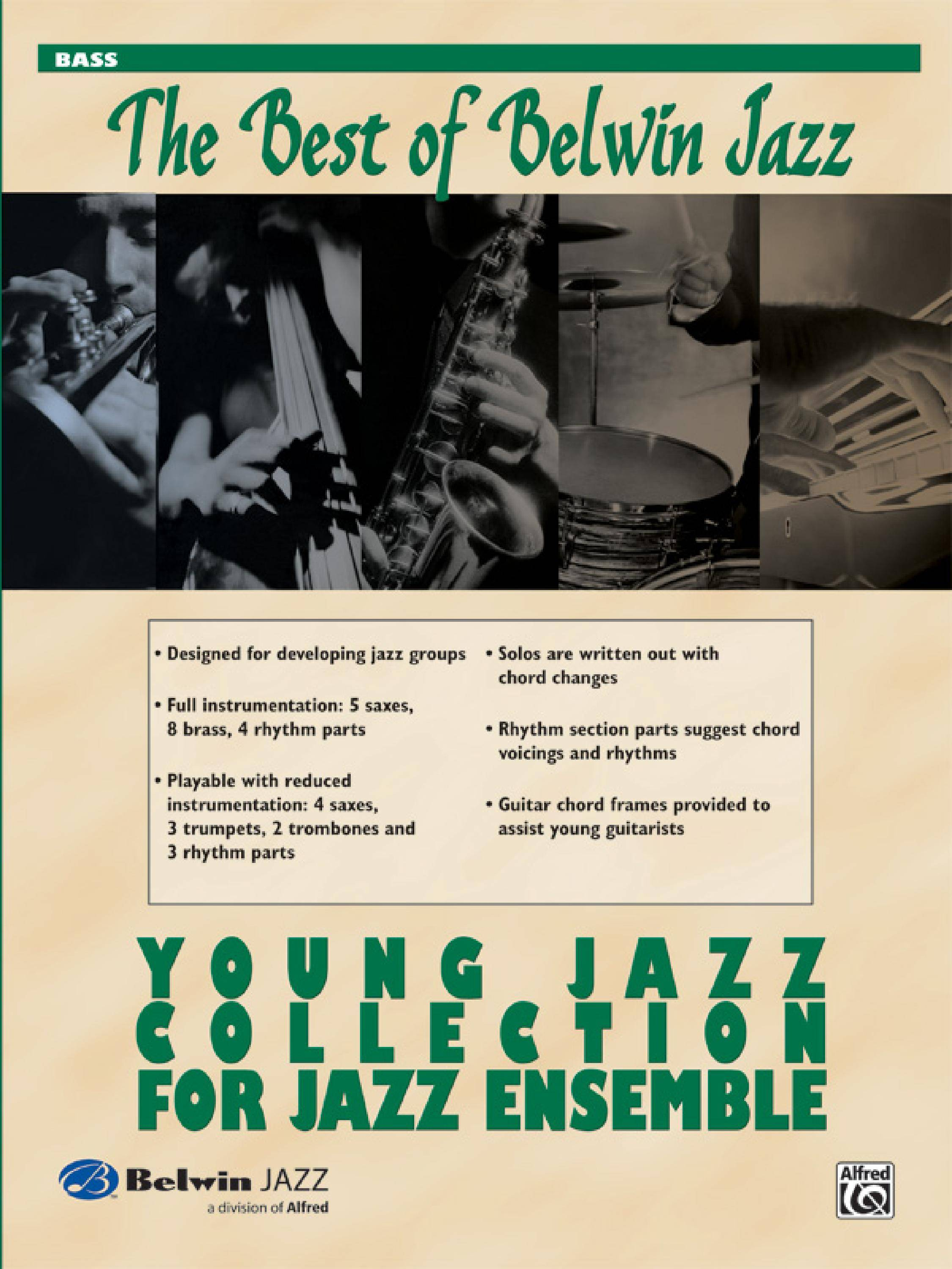 Belwin Best Of Belwin Jazz Young Jazz Collection For Jazz Ensemble