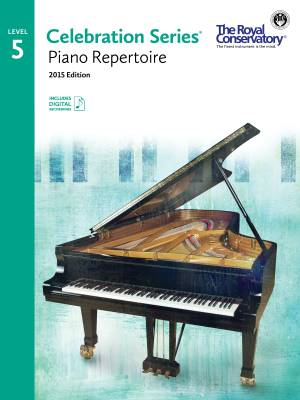 Celebration Series, 2015 Edition Piano Repertoire 5 - Book/Audio Online