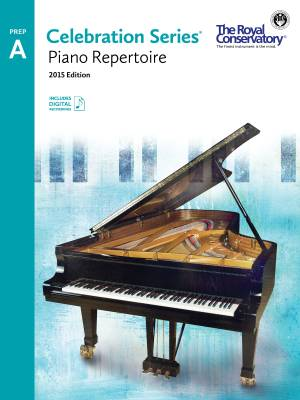 Celebration Series, 2015 Edition Preparatory A Piano Repertoire - Book/Audio Online