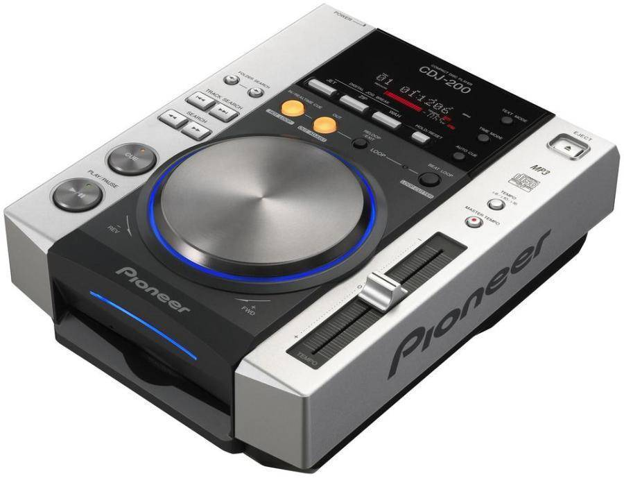 pioneer cdj 200 digital cd deck with effects long mcquade musical instruments. Black Bedroom Furniture Sets. Home Design Ideas