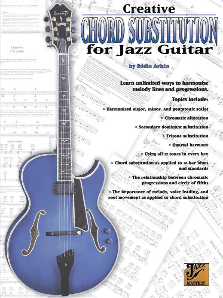 Belwin Creative Chord Substitution For Jazz Guitar Long Mcquade