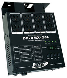 4 Channel 15 Amp DMX Dimmer Pack