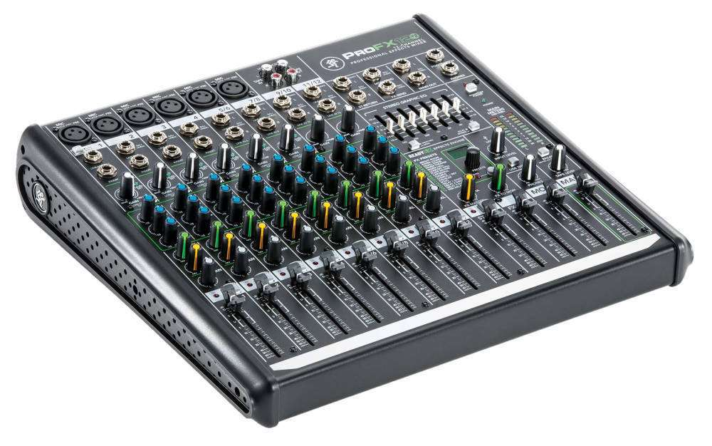 Mackie Profx12v2 12 Channel Professional Effects Mixer