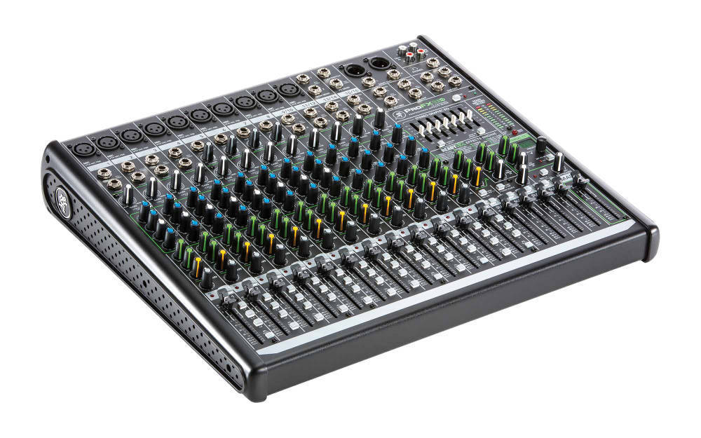 Mackie 16 Channel Professional Effects Mixer With Usb