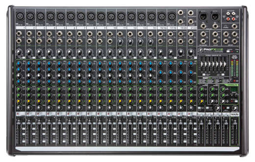 22-Channel 4 Bus Professional Effects Mixer with USB
