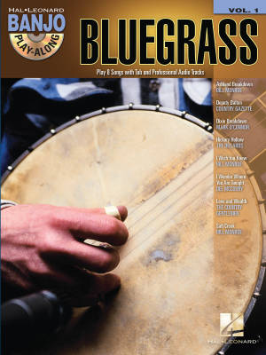 Bluegrass: Banjo Play-Along Volume 1 - Book/CD