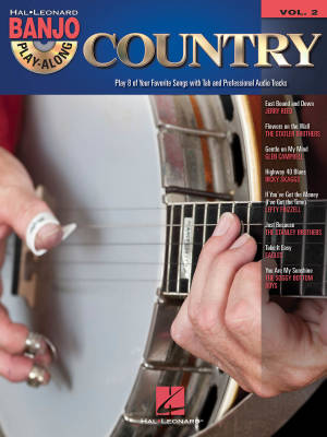 Country: Banjo Play-Along Volume 2 - Book/CD