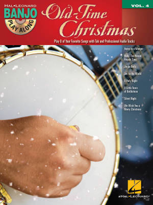 Old-Time Christmas: Banjo Play-Along Volume 4 - Book/CD