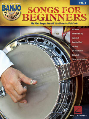 Songs for Beginners: Banjo Play-Along Volume 6 - Book/CD