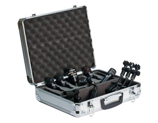 Professional 5-Piece Drum Mic Package