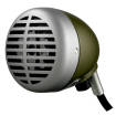 Shure - 520DX Green Bullet Harmonica Microphone