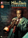 Hal Leonard - Miles Davis Classics: Jazz Play-Along Volume 79 - Book/CD
