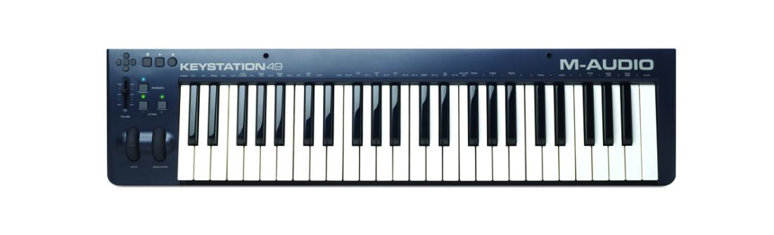 m audio 49 note midi controller long mcquade musical instruments. Black Bedroom Furniture Sets. Home Design Ideas