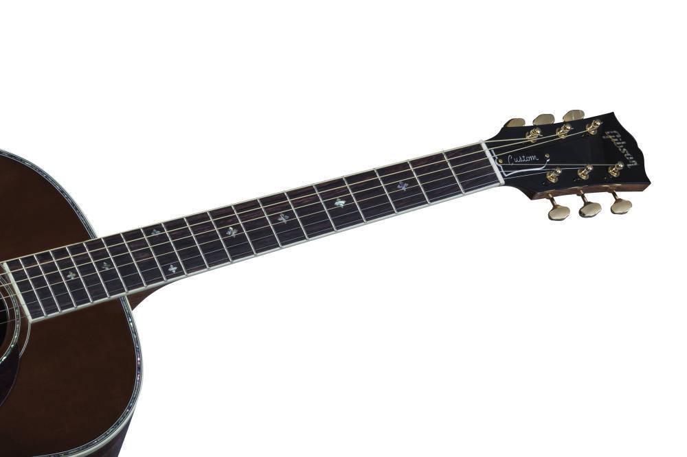 gibson j45 koa honeyburst long mcquade musical instruments. Black Bedroom Furniture Sets. Home Design Ideas