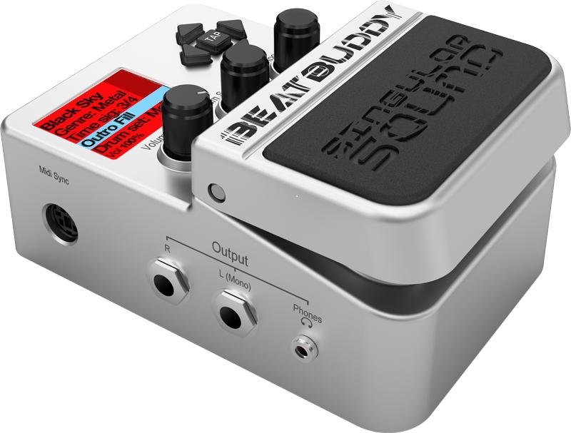 drum machine guitar pedal