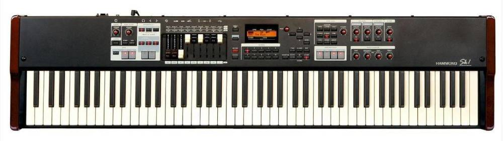 hammond portable organ and stage keyboard 88 key long mcquade musical instruments. Black Bedroom Furniture Sets. Home Design Ideas