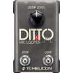 TC-Helicon - Ditto Mic Looper Pedal
