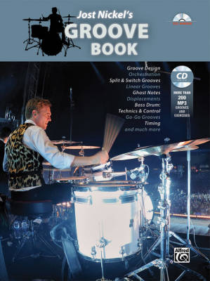 Jost Nickel's Groove Book - Drum Set - Book/CD